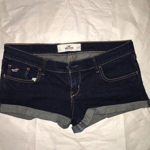 Jean shorts. EUC